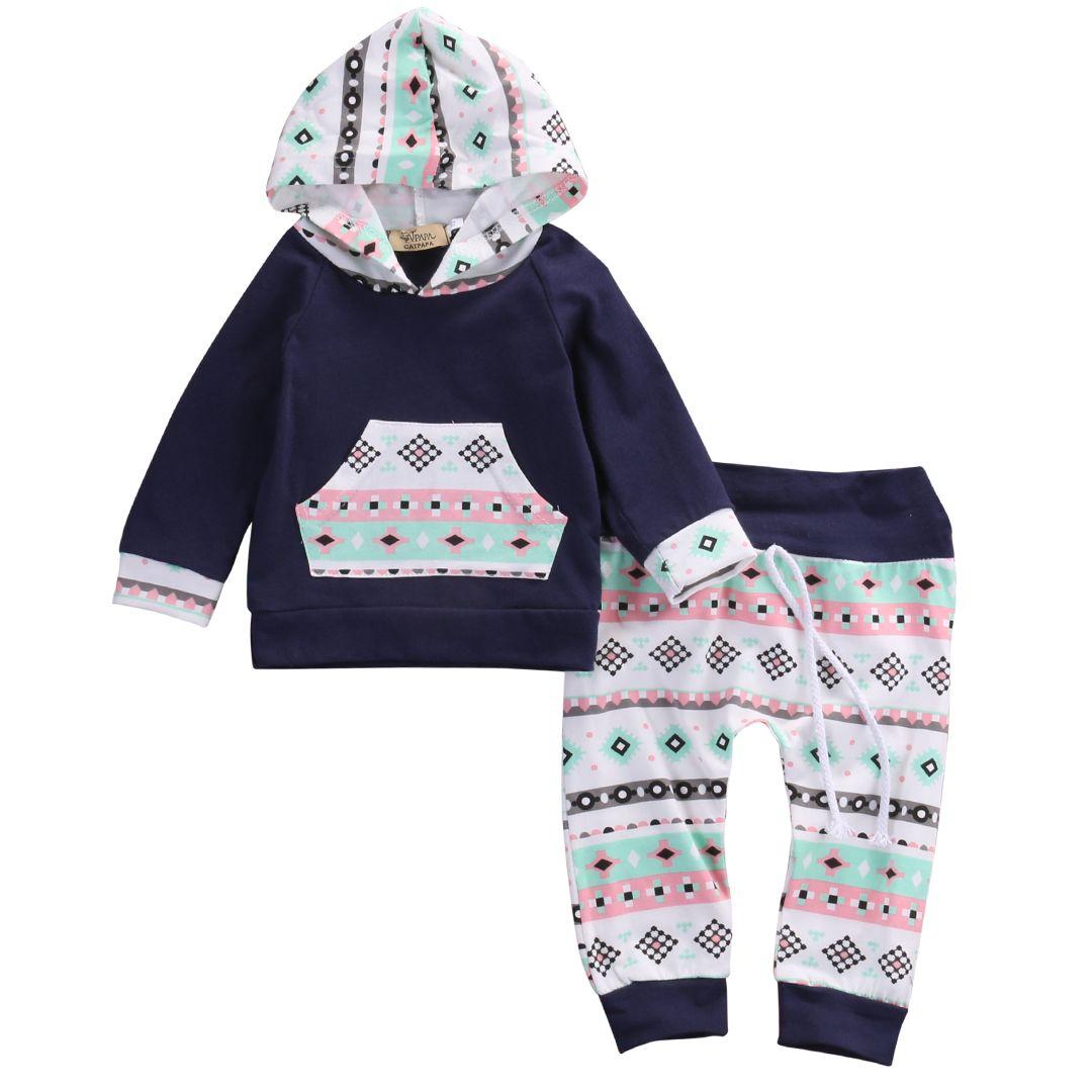 Shop For Cheap 2pcs Newborn Infant Baby Boy Girl Clothes Fashion Toddler Kids Leopard Hoodies Top Pant Bebek Giyim Clothing Set Autumn Suit Mother & Kids