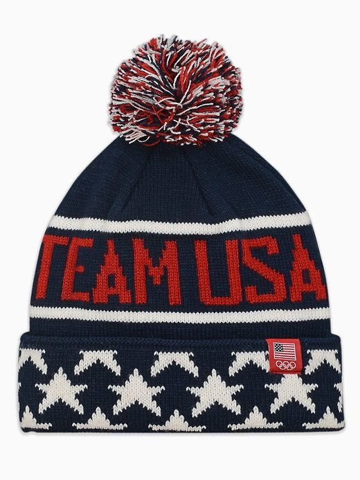 dd23f1e908a Old Navy Team USA® Pom-Pom Beanie for Adults