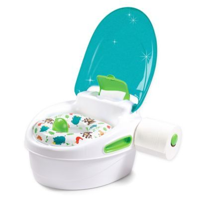 Summer Infant Step By Step Potty Trainer And Step Stool In Blue