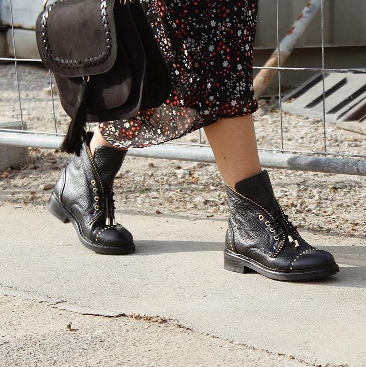 Stiefelette Shimane | Sommerkind schuhe, Schnürstiefeletten