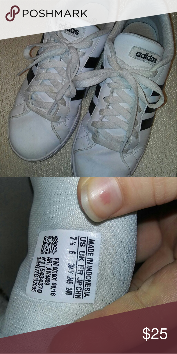 Adidas Neo Cloudfoam worn a few time, bought for 54 Adidas Shoes Sneakers