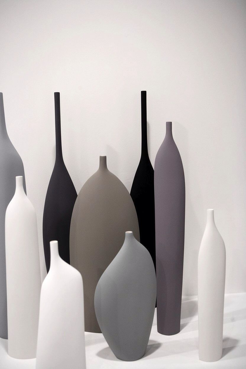 Neutral colors in anything but neutral shapes product design i love combinations of the colours shapes vases from show 2010 photo hangar design group reviewsmspy