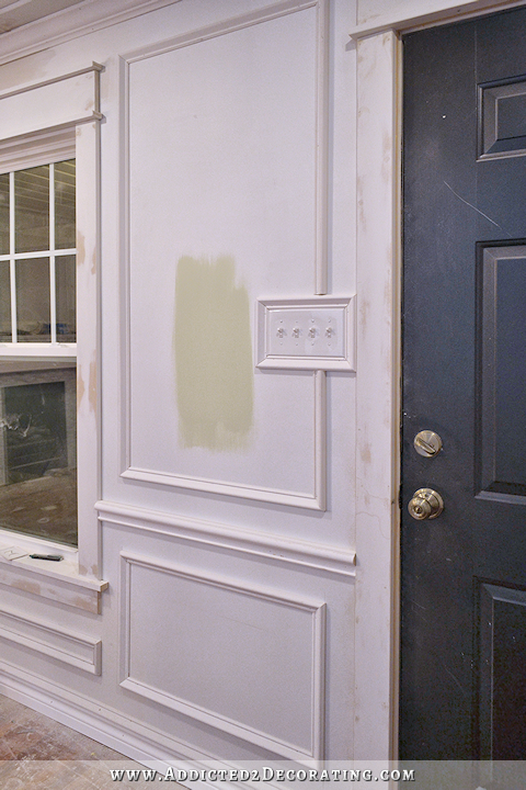 Dining Room & Entryway Progress | Wall applications | Pinterest ...