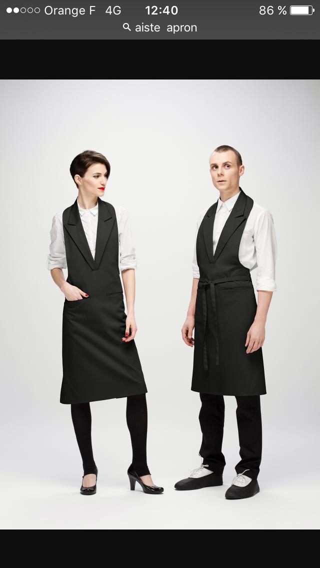 uniforme aprons restaurant uniforms salon uniform