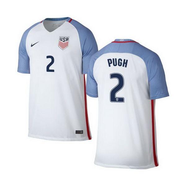edaed2e1287 Mallory Pugh Home Youth Jersey 2016 USA Soccer Team