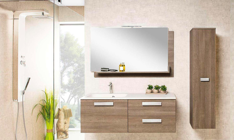 Miroir Salle De Bain 120 meubles salle de bains cedam chiara | meuble salle de bain