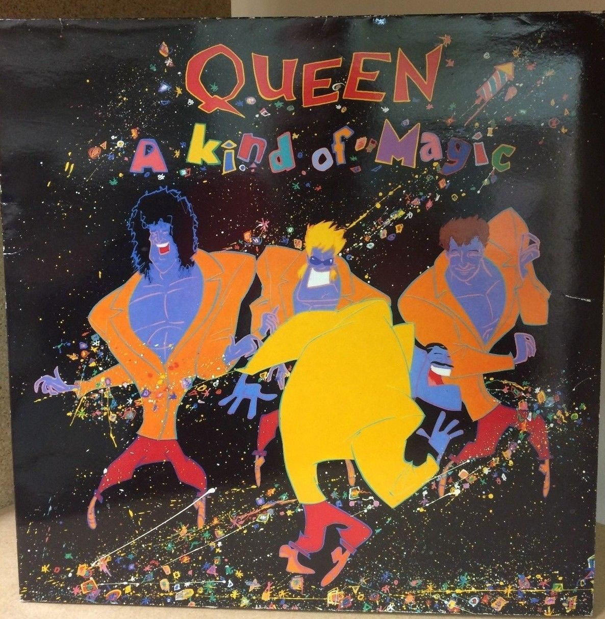Stg Queen A Kind Of Magic Lp Record 1986 5099924053112 Ebay Queen Album Covers Queen Albums Iconic Album Covers