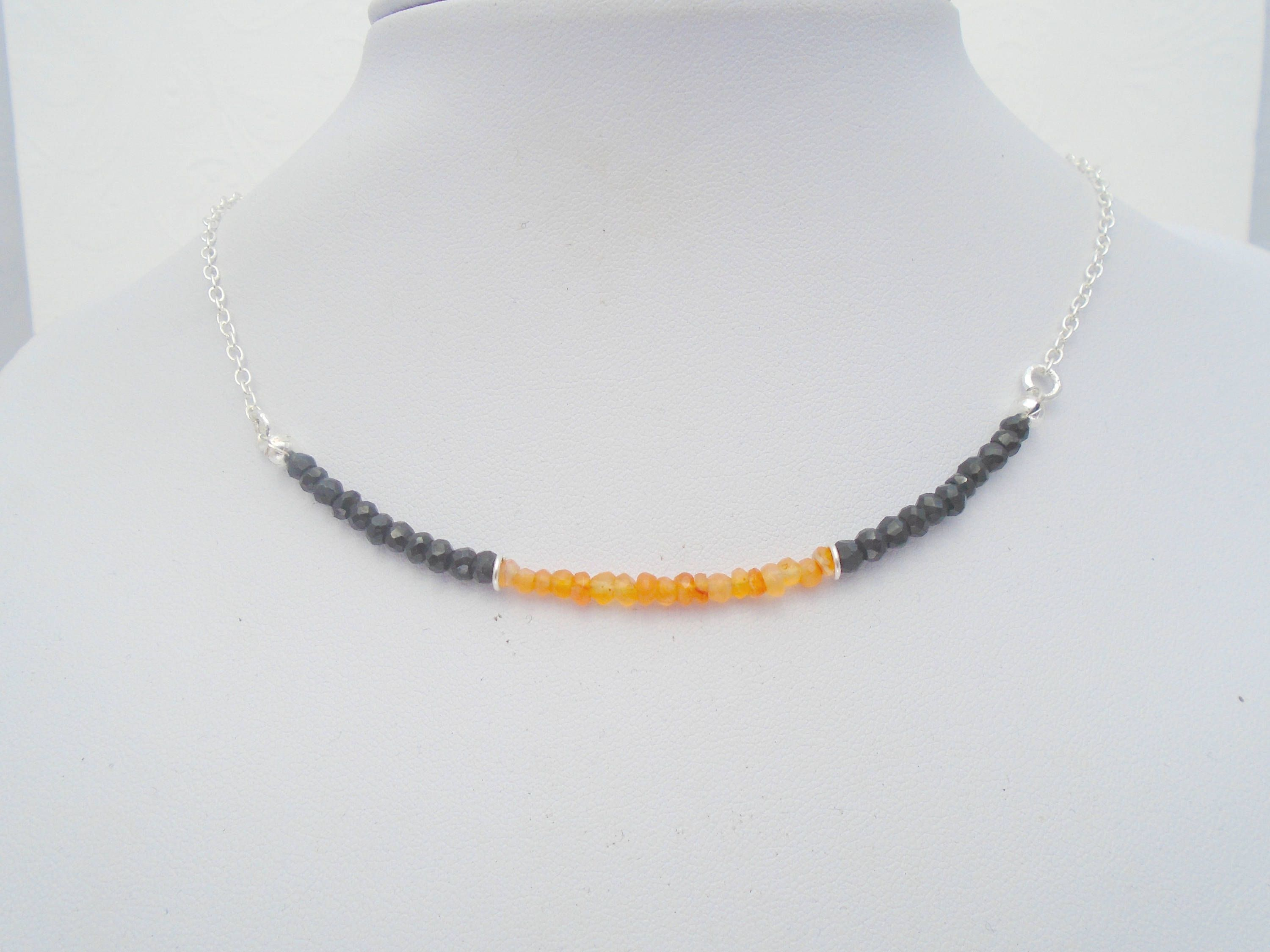 silver passion and focus calmness briolette products black gold love filled spinel necklace sterling jacquelineashworth