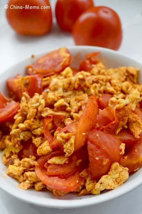 Chinese egg fried tomato china memo eggs tau foo recipe a simple chinese home cooking recipe egg fried tomatoes the tender and fluffy eggs are mixed with the succulent tomatoes plus the flavour of garlic and forumfinder Choice Image