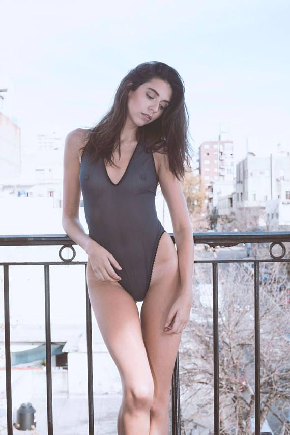 0fcd4e332b Sheer mesh, see through bodysuit, high cut leg, deep v plunge, one-piece,  high hip, low back, leotar