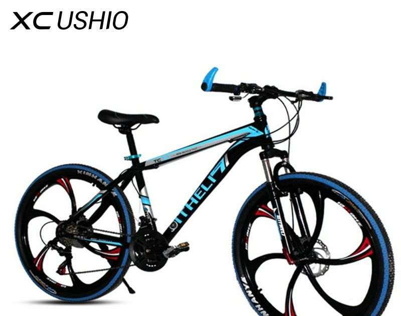 Sale Mountain Bike 21 Speed 26 Inch Bicycle Double Disc Brake One