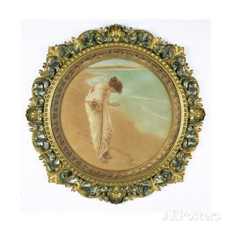 The Sea Hath its Pearls Giclee Print by William Henry Margetson - AllPosters.co.uk