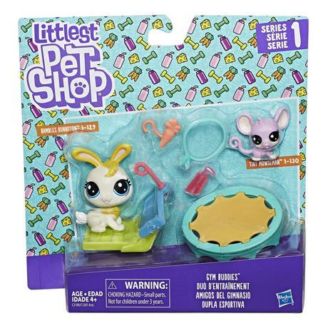 Littlest Pet Shop Gym Buddies Pet Shop Lps Littlest Pet Shop Little Pet Shop