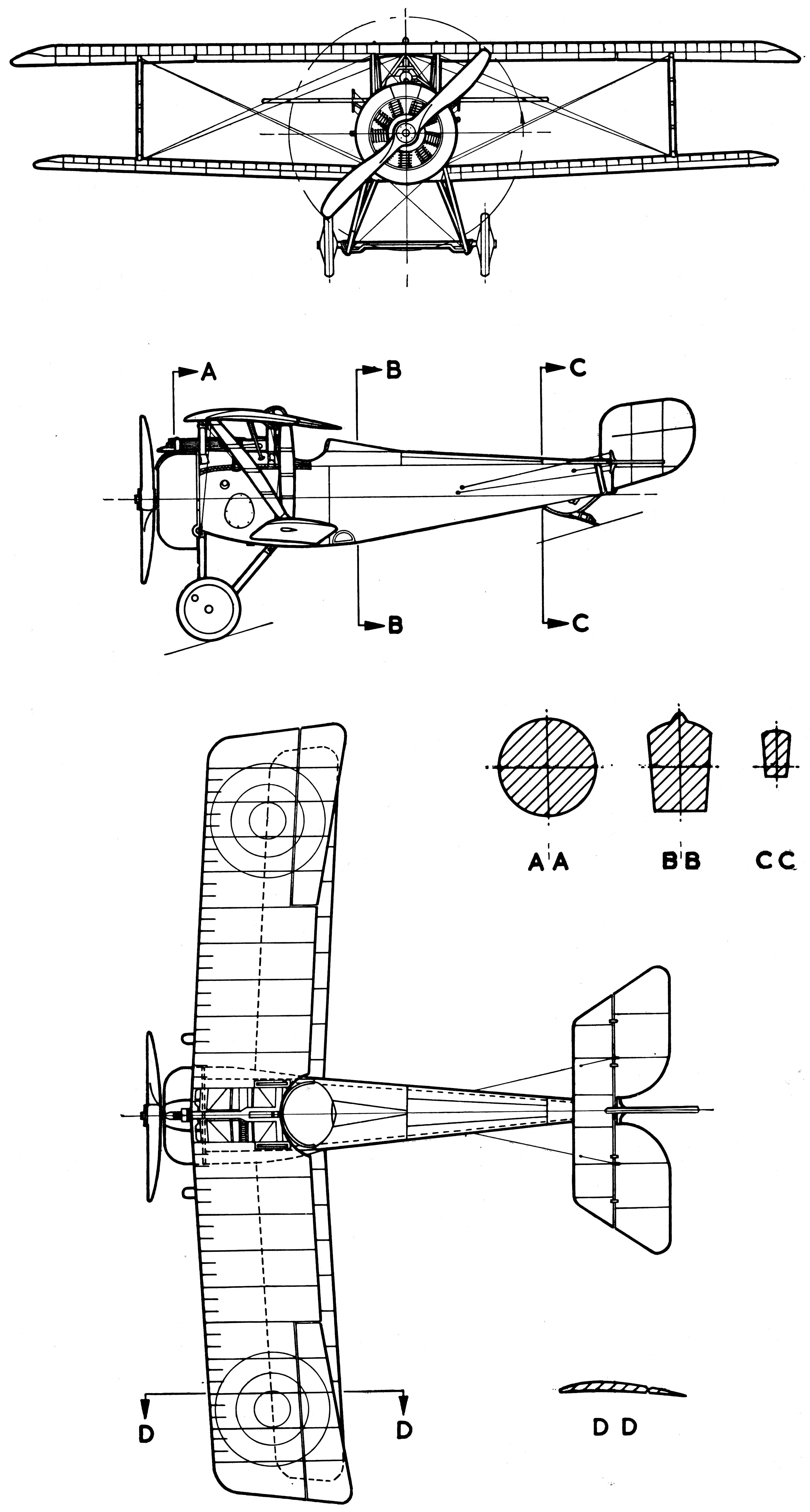 Nieuport 17 Blueprint
