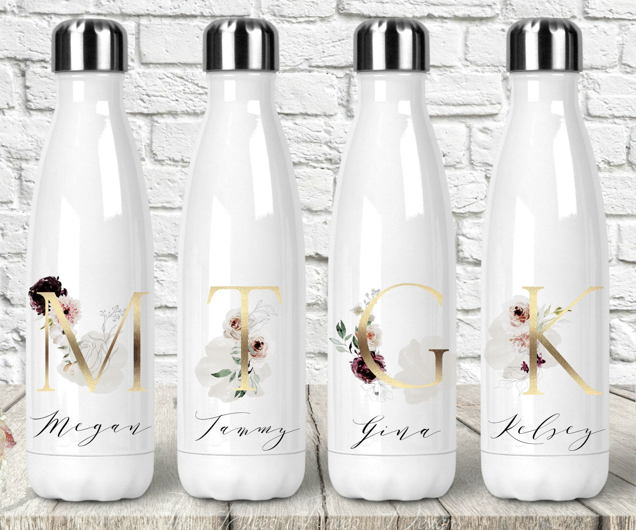 maid of honor bottle water bottle maid of honour bottle bridal party gifts Bridesmaid Bottle wedding party gift. bridesmaid