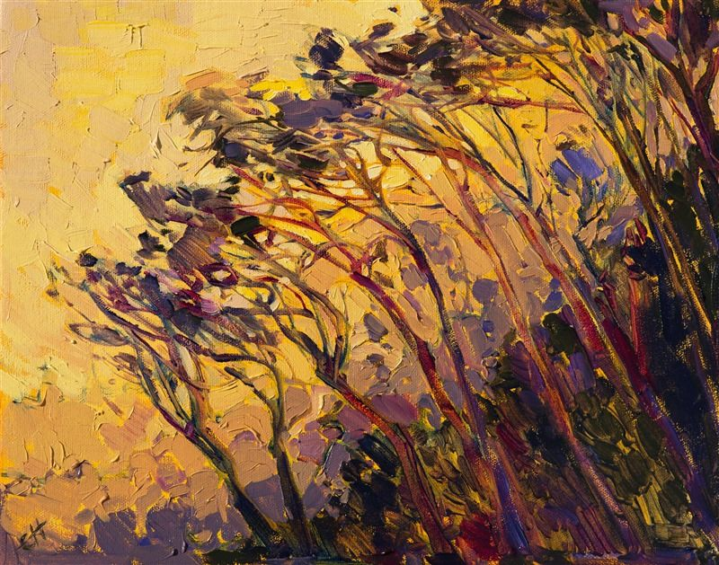 Saffron Dawn Contemporary Impressionism Art Gallery In San Diego