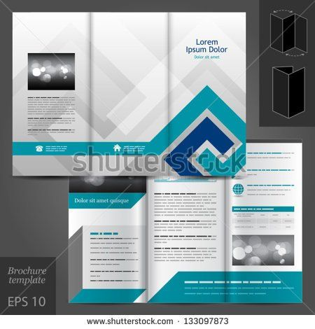 1 Page Brochure Template Google Search Temp Office Pinterest