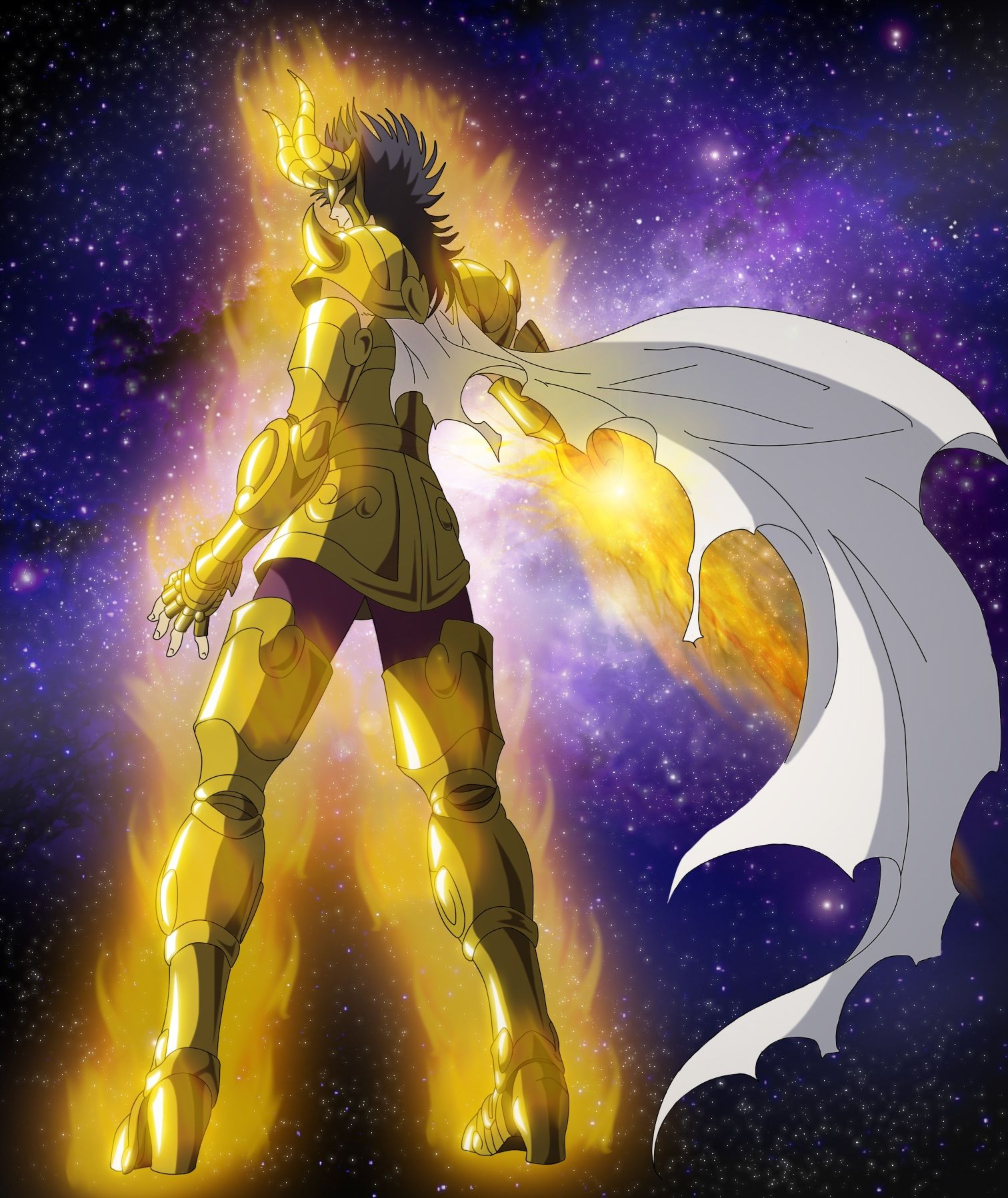 Gold Saint Capricorn El Cid By Erushido