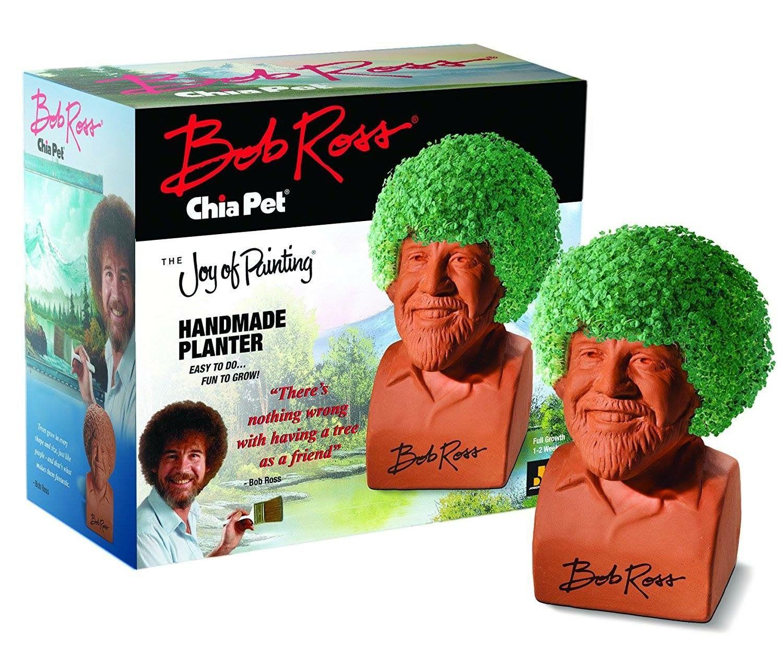 Bob Ross Chia Pet Chia Pet Bob Ross Elephant Gifts