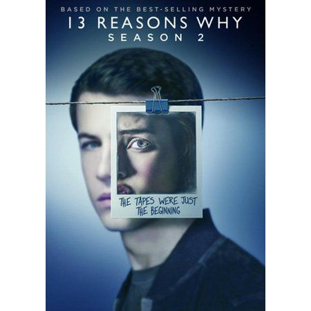13 Reasons Why: Season 2 (DVD) - Walmart.com #13reasonswhy