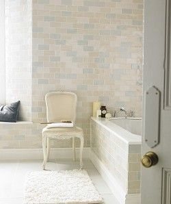 Chic Craquele - have these tiles in my bathroom,  they are gorgeous