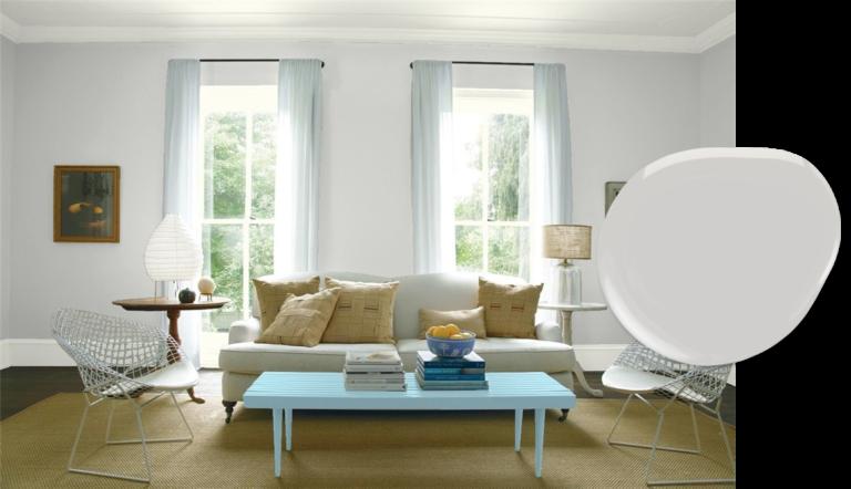 Top 10 Benjamin Moore Light Neutrals Interior paint