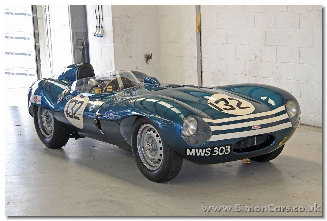 Jaguar D-type 1956 frontee - Jaguar D-type 1956. Chassis ...