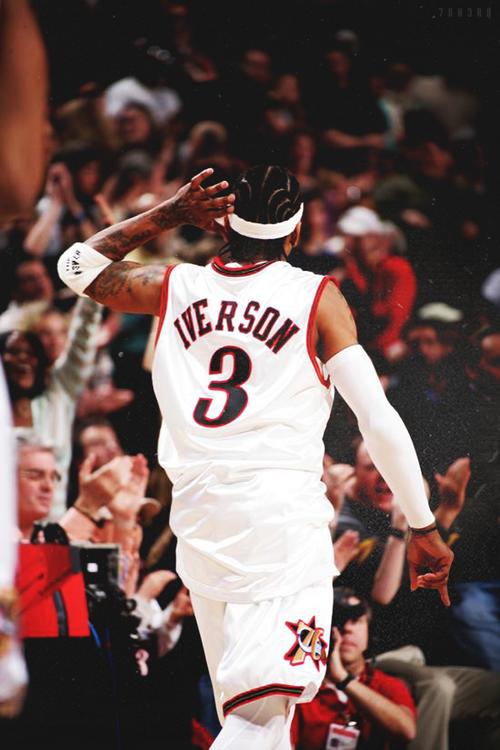 Allen iverson 76ers shooting