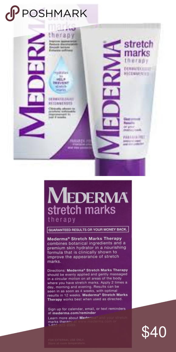 New In Box Mederma Stretch Mark Therapy 5 29 Oz Nwt Stretch
