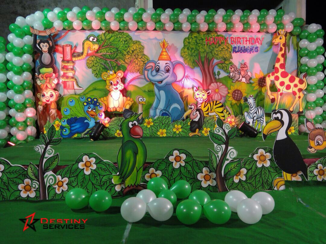 Leading Birthday Party Organisers In Hyderabad For Balloon Decorations Food Catering Services Games Fun Themes Parties