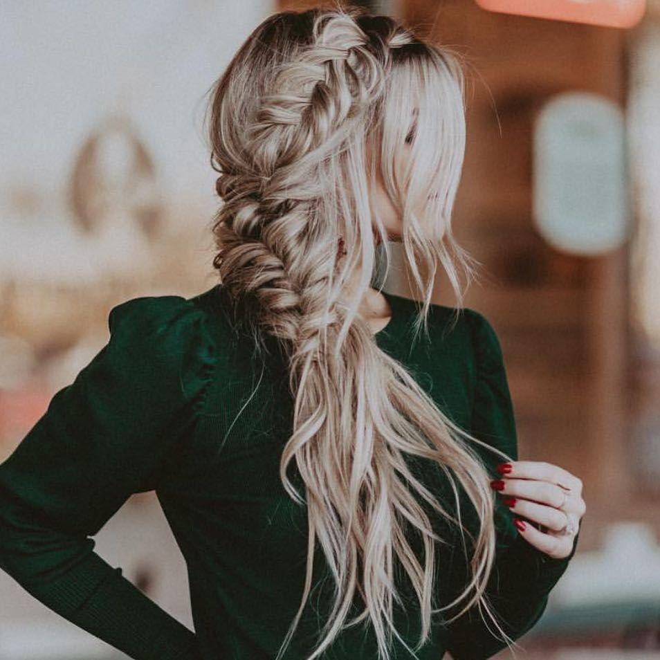 side braids boho hairstyle #hairstyle #braids #longhair