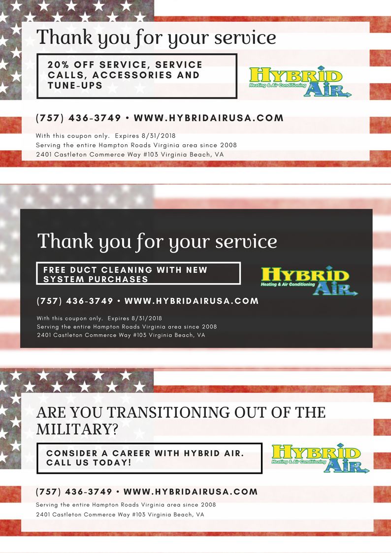 Thank You For Your Service Military Appreciation Discounts Military Appreciation Hampton Roads Military Discounts