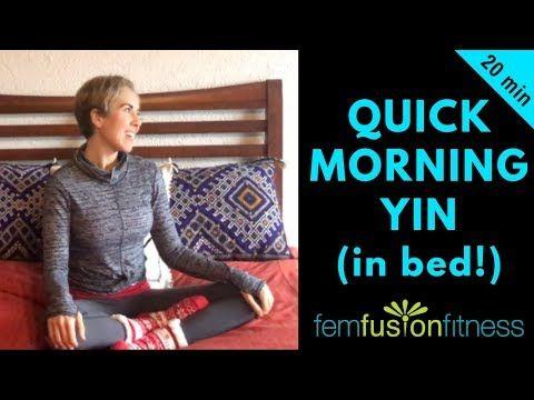 morning yin yoga with affirmations digestion stiff