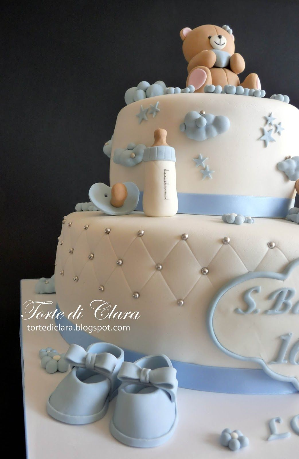 foto de Torta per il Battesimo del Piccolo Lorenzo Torte per