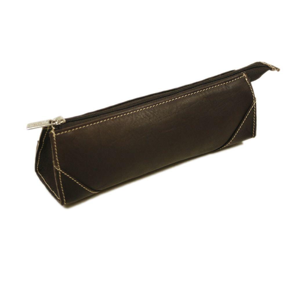 Piel Brush Pencil Bag