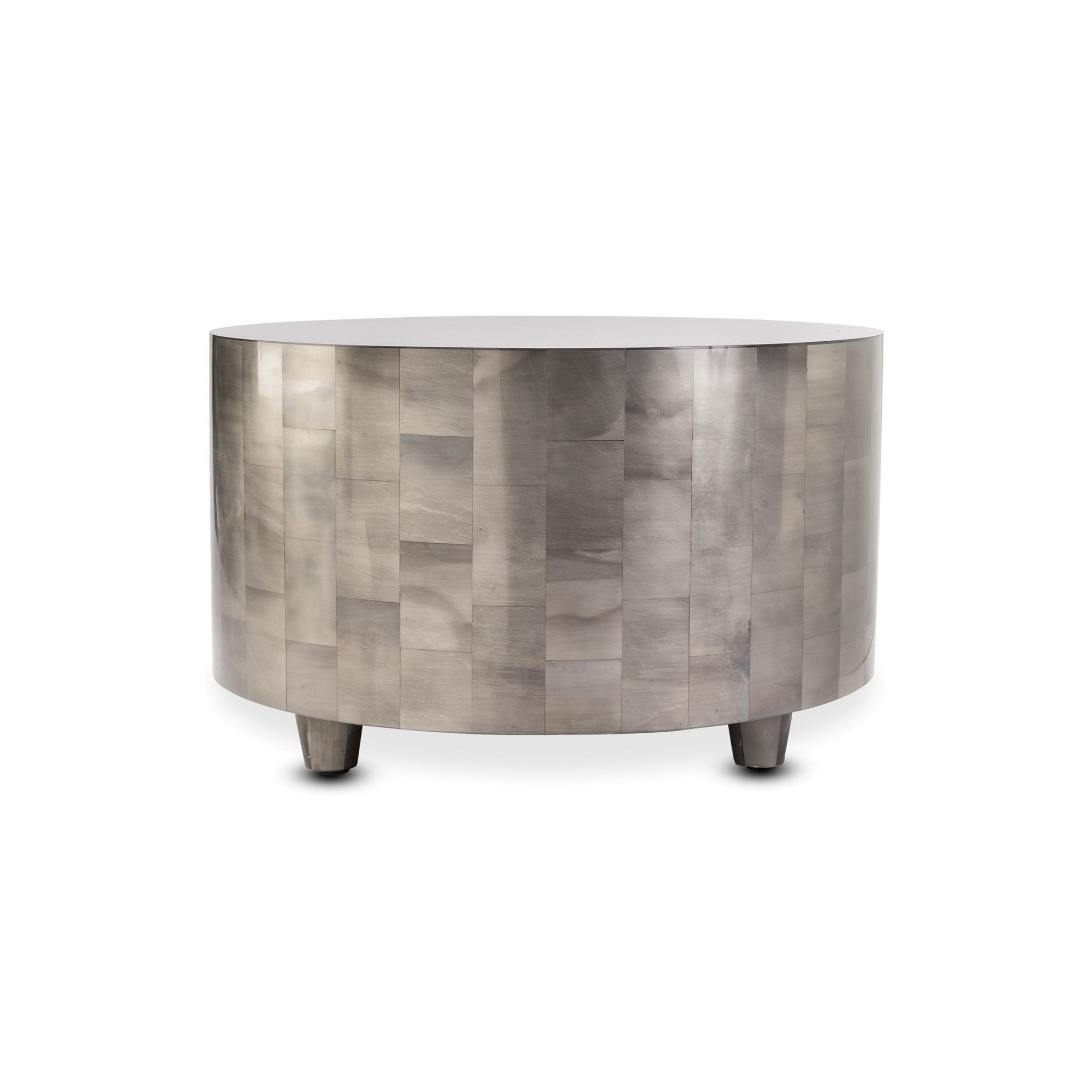 Silver Coffee Table, Drum