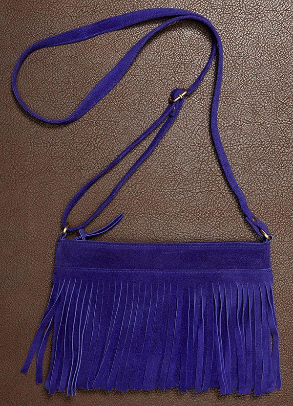 7c2a2a6a4f Purple fringe crossbody bag.  Designerclan.com  top quality designer puses  off sale