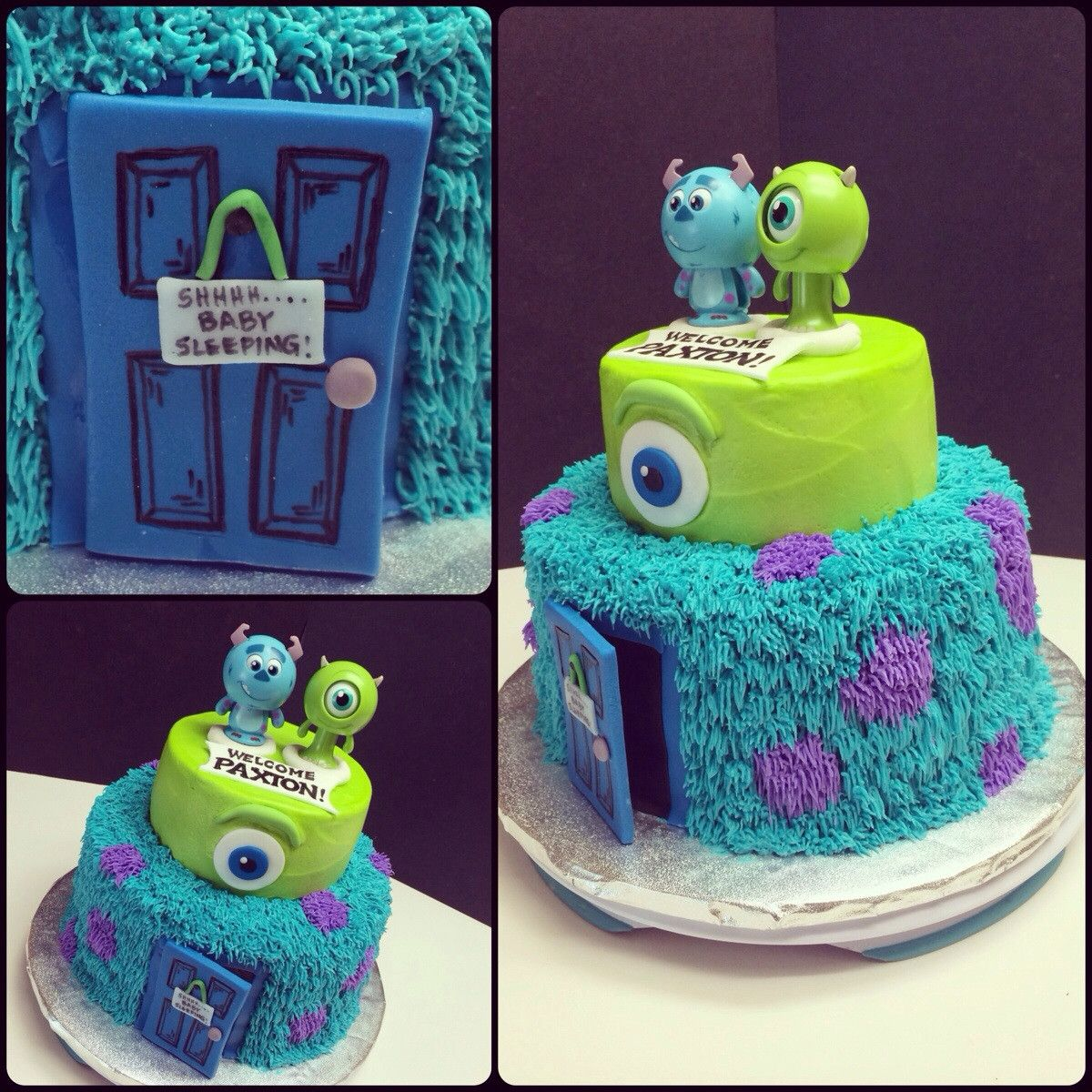 Monster Inc Baby Shower Decorations Diaper Raffle Tickets Monsters Inc Baby Shower Instant