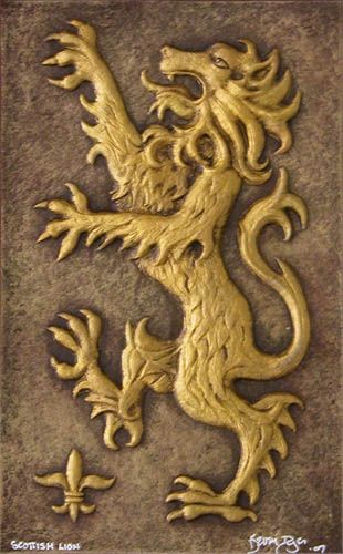 The Scottish Lion Is The Ancient Heraldic Emblem Of The King Of