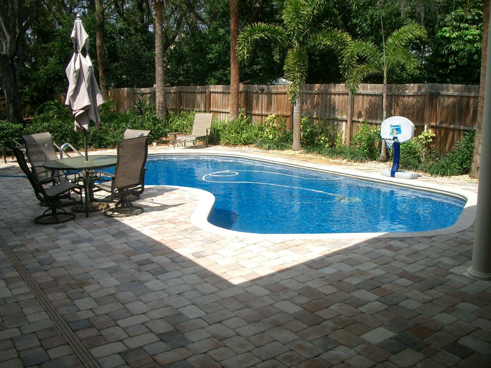 Backyard Landscaping Ideas Swimming Pool Minimalist Design