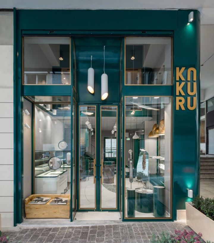 756e0266ad70 Pin by frankinism on facade / shopfront | Jewelry store design ...