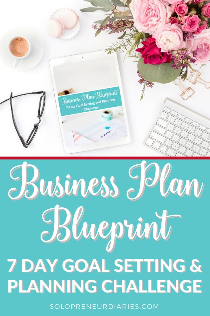 Business plan blueprint business plan blueprint solopreneur diaries malvernweather Images