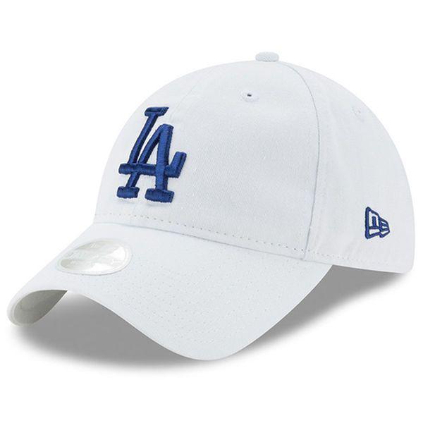 lowest price 8f7b5 e9100 ... discount los angeles dodgers new era womens preferred pick 9twenty  adjustable hat white 19.99 c616a e6141
