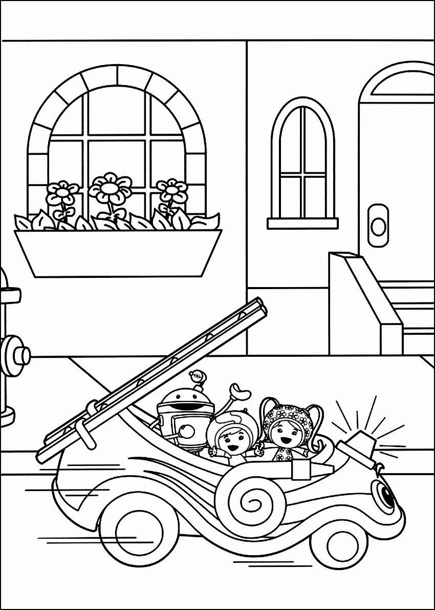 Team Umizoomi Coloring Page Elegant Free Printable Team Umizoomi Coloring Pages For Kids In 2020 Coloring Books Free Coloring Pages Coloring Book Pages