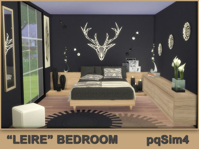 Leire Bedroom By Pqsim4 Sims 4 Cc Mobel Sims 4 Hauser Sims