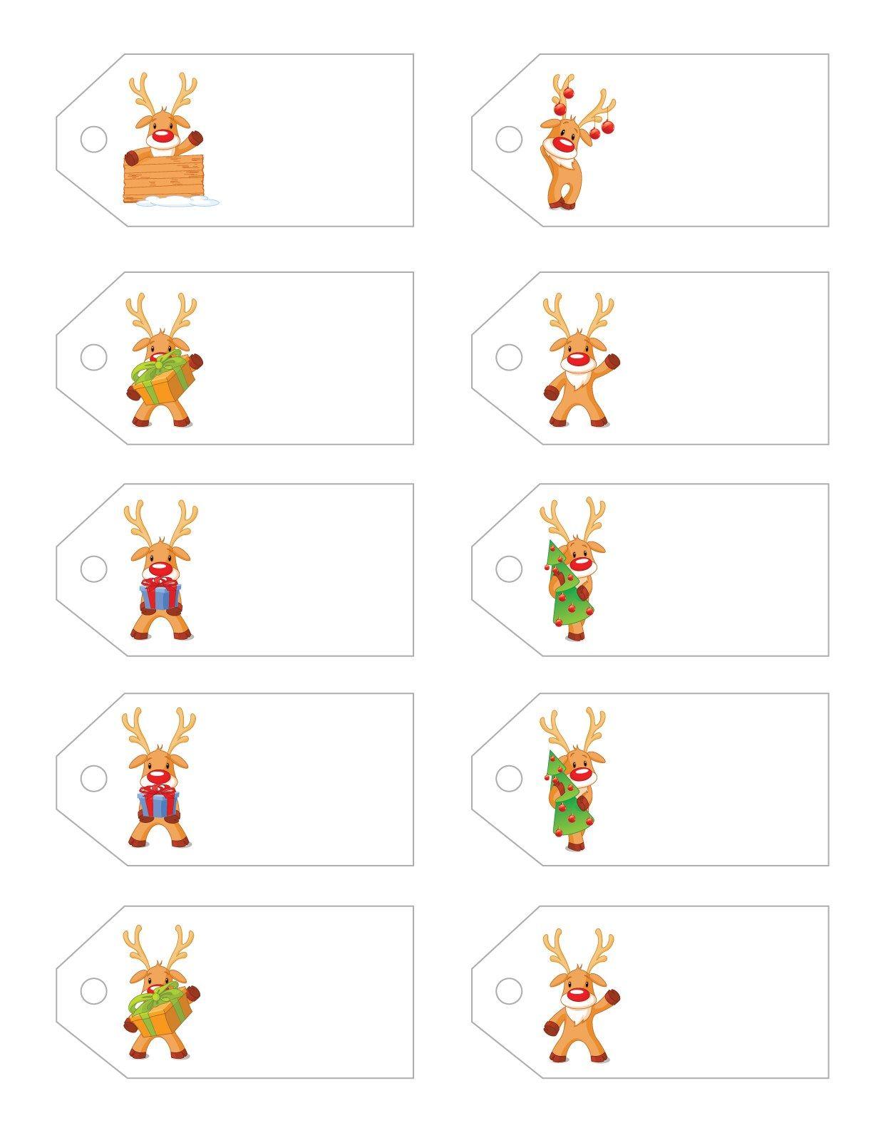 Free Santa Printables  Free Printable Christmas Gift Tags