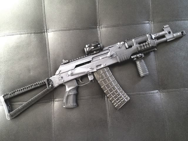 You're not bulletproof   , Custom Draco  223 A heavily