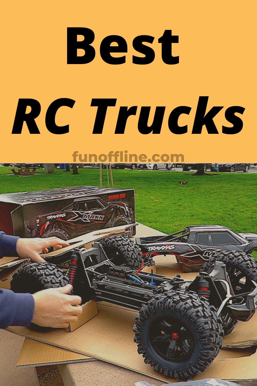 The Best RC Trucks of 2020 in 2020 Rc trucks, Trucks