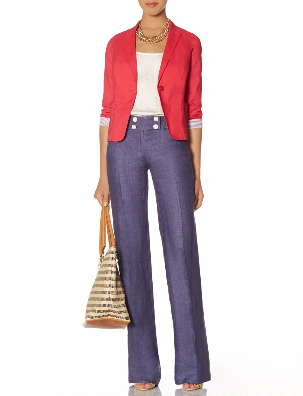 Outback Red® Patch Pocket Blazer   One Button Jacket   THE LIMITED