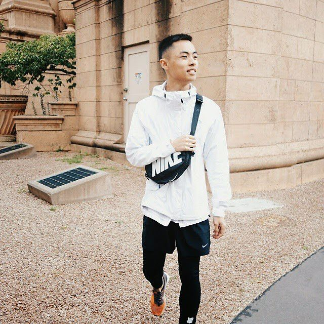 Danny Truong , Nike Hurricane Jacket, The North Face
